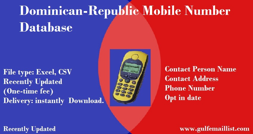 Dominican-Republic Mobile Number Database